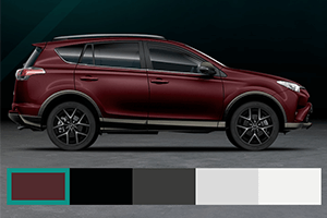 Toyota RAV4 Style Limited Edition Campaign site